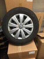 Vw all season steel wheel package