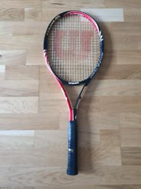 Wilson six.one team tennis racket