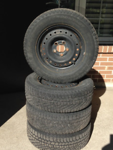 Winter Tires on Rms - Excellent Condition