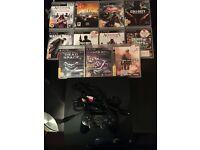 Playstation 3 Slimline 160Gb Bundle 11 Top Games 1 Dualshock Pad Excellent Condition