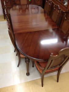 Rare Gibbard Walnut Dining Suite SOLD Kingston Kingston Area image 2