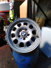 "Original BMW 16"" Alloys"