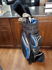 Golf Club Set with Bag - Right Handed