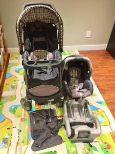 BRAND NEW Graco Click Connect stroller car seat travel system