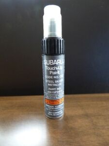 2010 Subaru Outback Touch up Paint - OEM - Steel SIlver Metallic