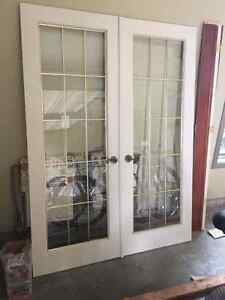 Double and single interior French doors Sarnia Sarnia Area image 2