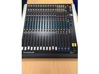 Soundcraft Spirit M12 mixing desk