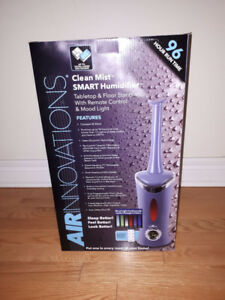Air Innovations Clean Mist SMART Humidifier- 96 Hour Run Time