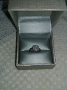 Engagement and Wedding Ring Set with Appraisal