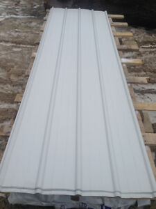 1700 Square Feet New White Steel Roofing