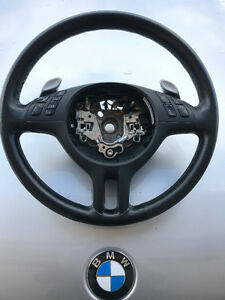 BMW E46 SSG leather steering wheel