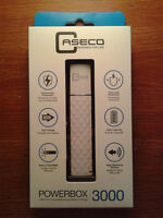 CASECO PowerBox 3100mAh Battery Charger & Headset