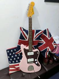 Fender Squier Classic Vibe FSR 60s Jazzmaster Pink Electric Guitar