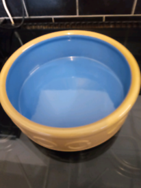 Dogs bowl Mason and cash 10 inches diameter pick up only