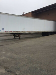 53 FOOT TRAILER FOR STORAGE