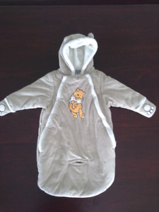 Disney brand Whinney the Pooh Infant Snowsuit