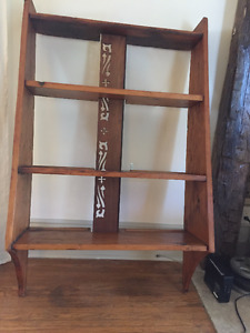 Antique pine book case