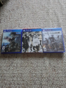 3 amazing ps4 titles. Persona, monster hunter, nier