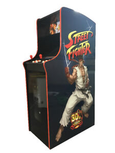 Street Fighter Themed Arcade Multi-Game Machine.