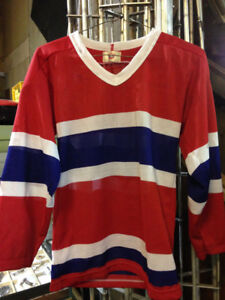 Vintage Montreal Canadiens NHL Hockey Jersey $10