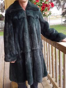 Birger Christensen 3/4 Length Mink Fur Coat