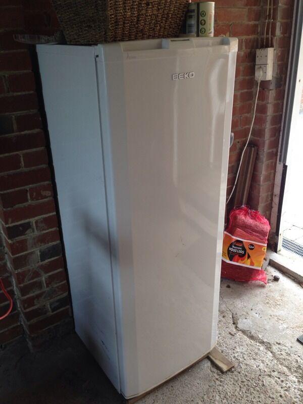beko upright white freezer in brighton