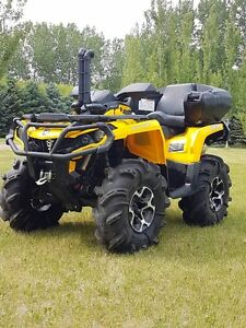 2013 Can-Am Outlander XT 1000 $9500.00