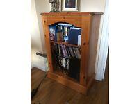 Pine cabinet/bookcase