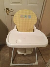 Foldable baby's chair for sale