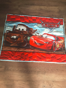 Brand New! Disney Cars Lightning McQueen and Mater Hand Quilted
