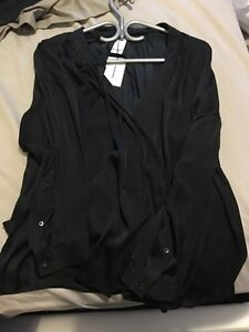 Brand new with Tags Black Babaton Blouse from Aritzia
