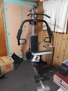 Weider 1200 Home Gym - Weight Machine