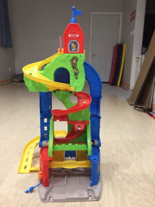 Children's Fisher Price Race Track Toy