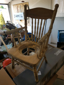 Antique Toddler Potty Training Chair
