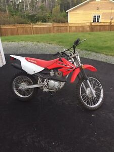 Honda CRF100F dirt bike