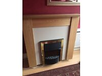 Brand new fireplace with surround & plinth
