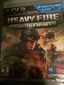 HEAVY FIRE pour PS3, neuf
