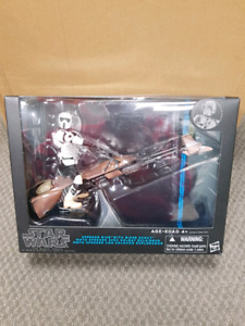 Star Wars Black Series Speeder Bike with Biker Scout