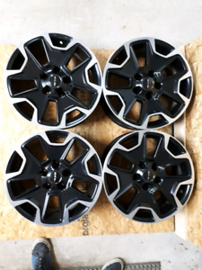 """Set of 4- 17"""" RTX Alloy Rims...With Spacers"""