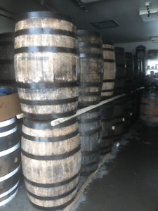 LOOK JUST IN FROM KENTUCKY BOURBON WHISKEY BARRELS, $225 to $235