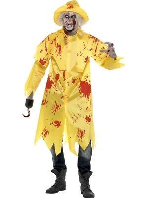 Zombie Fischer Regenjacke Kostüm Halloween - Fischer Kostüm