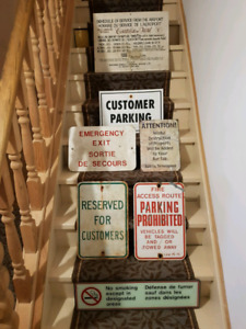Vintage Signs ( READ FULL AD )