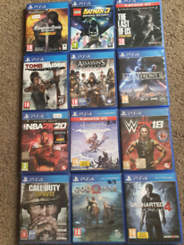 Each⭐£10 Or 4 For🔥£35 PS4 & PS5 Games