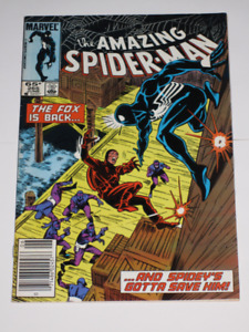 Marvel Comics Amazing Spider-Man#265 1st Silver Sable comic book