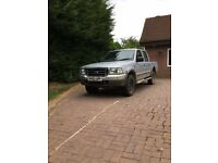 2003 Ford Ranger silver 4x4 silver crew cab