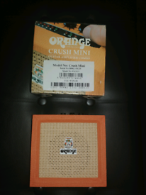 Orange Crush Mini Guitar Amp *COLLECTION ONLY