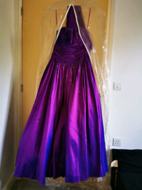 💜Tiffany bling ball gown/prom dress 💜