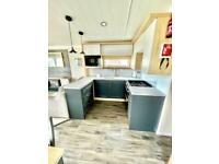 luxury 3 bed caravan with built in veranda