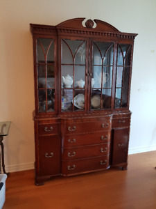 Antique Breakfront - must sell - moving