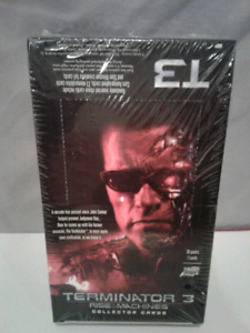 Carte TERMINATOR 3 Rise of The Machine Trading Cards  Autograph